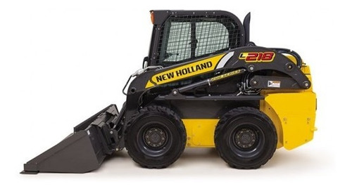 minicargadora  new holland l218