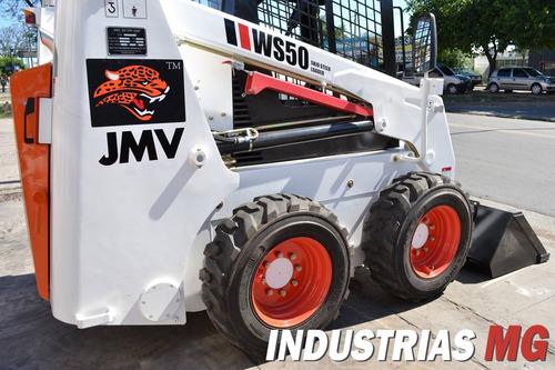 minicargadora nueva jmv similar a bobcat en preventa