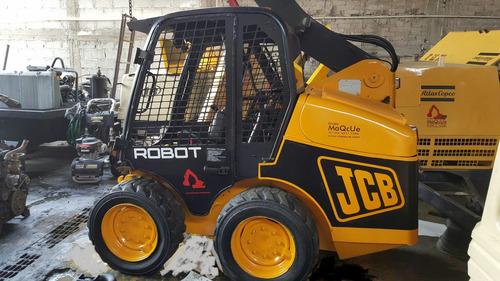 minicargadores jcb robot con o sin martillo trabajando