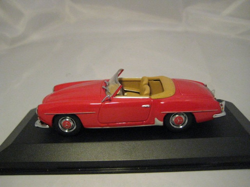 minichamps 1/43 mercedes 190 sl roadster (w121) 1955-1963