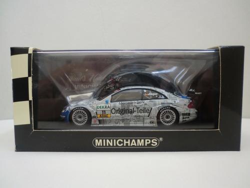 minichamps 1/43 mercedes - benz clk dtm 2003 t. jager