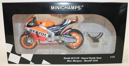 minichamps marc marquez escala 1/12 # 93 repsol honda motogp