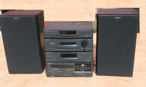 minicomponente audio sony