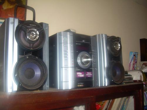 minicomponente de sonido sony