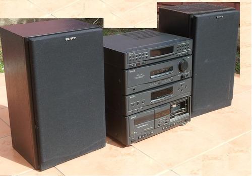 minicomponente equipo audio sony completo ( ingeniería ihc )