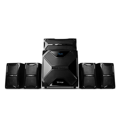 minicomponente home theater 5.1 bluetooth tv optico vorago*