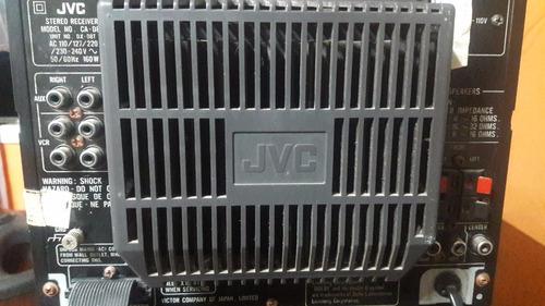 minicomponente jvc (2 modulos)  vintage  excelente estado