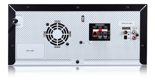 minicomponente lg xbook cj45 - garantía oficial