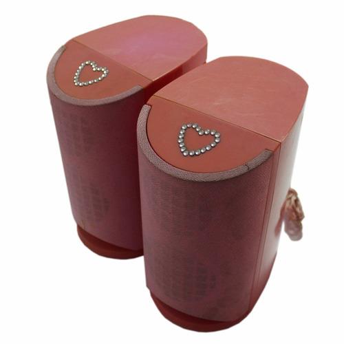 minicomponente nix para niña color rosa
