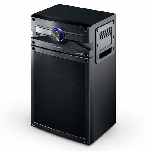 minicomponente panasonic 2200w usb bluetooth diseño elegante