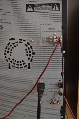 minicomponente panasonic sa-akx34