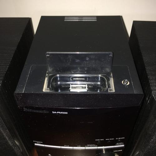 minicomponente panasonic sa pm500