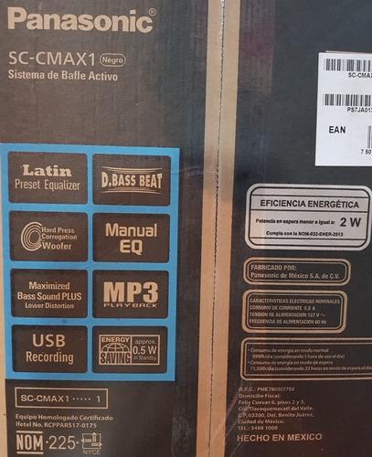 minicomponente panasonic sc-cmax1 de bluethoot