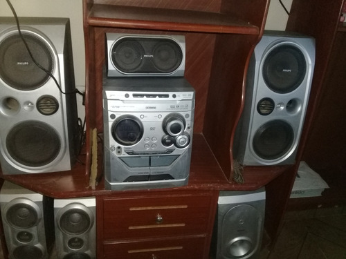 minicomponente philips fw d798 3cds 4cornetas superwoofer