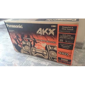 Minicomponente Sc-akx300 450w Rms/4950w Pmpo Bluetooth Usbx2