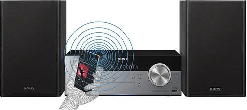 minicomponente sony cmtsbt100 con bluetooth y nfc
