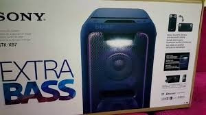 minicomponente sony gtk-xb7 bluetooth nfc usb extra bass