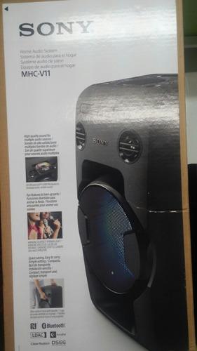 minicomponente sony mhc-v11 470w bluetooth nfc