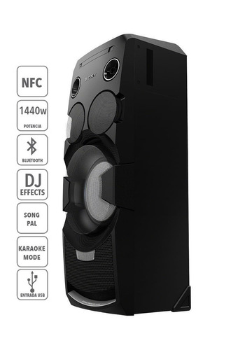 minicomponente sony modelo (mhcv-44d) nuevo en caja