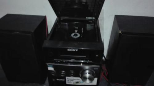 minicomponente sony mp3 usb radio am fm