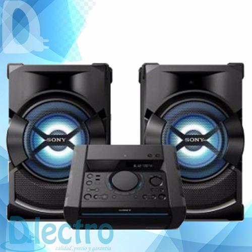minicomponente sony shake x1 1850w bt con karaoke dlectro