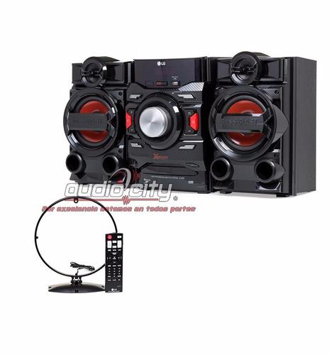 minicomponente x boom lg cj42 bluetooth usb 1400 watts