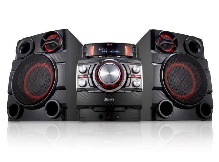Minicomponente X Boom Lg Cm8340 Bluetooth Karaoke Usb
