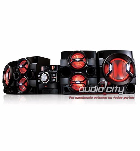 minicomponente x boom lg cm9550 bluetooth karaoke usb 32000w