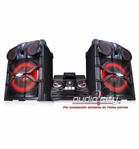 minicomponente x boom lg cm9740 bluetooth karaoke usb 32000w