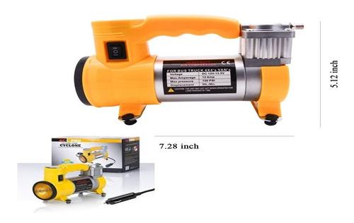 minicompresor de aire p /llantas portátil 150 psi 12v 35l/m
