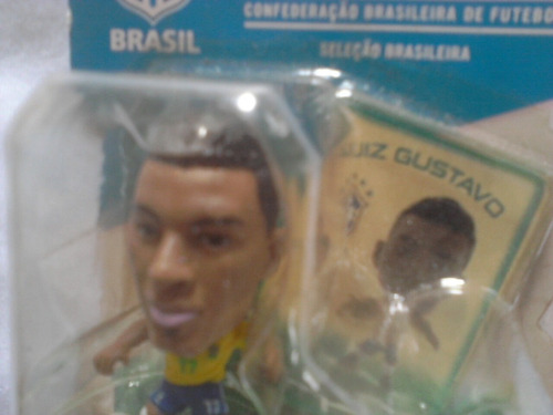 minicraques - soccerstarz- luiz gustavo # 17 - brasil