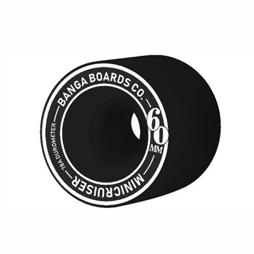 minicruiser maple banga - surf longboard skate penny