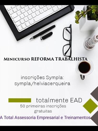 minicurso reforma trabalhista