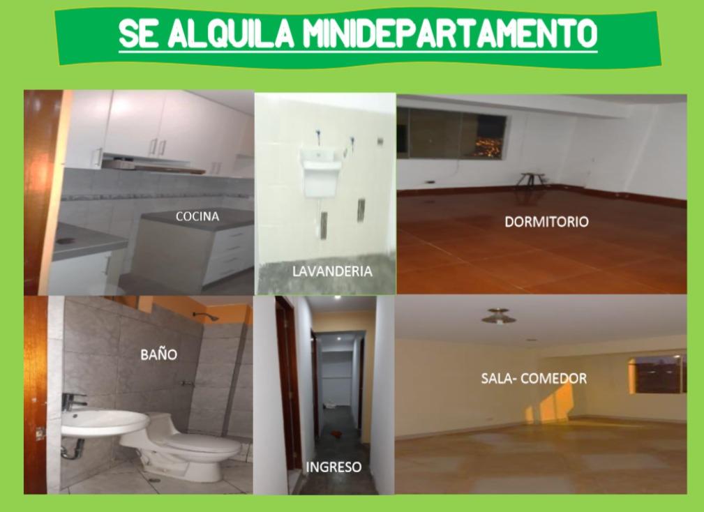 minidepartamento 5 ambientes san gabriel villa maria triunfo