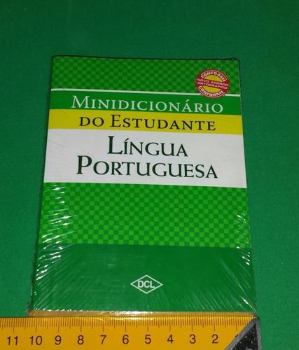 minidicionário do estudante - língua portuguesa - novo