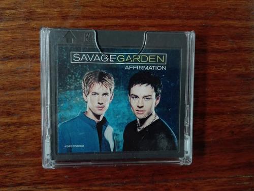 minidisc - savage garden - affirmation  - columbia - 1999