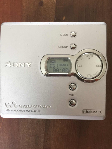 minidisc sony md walkman mz-n420d