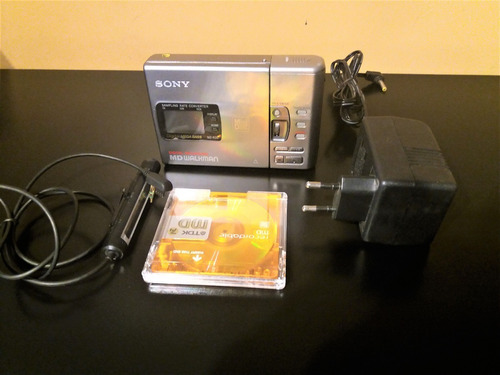 minidisc sony md walkman mz  r30