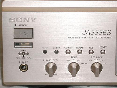 minidisc sony mds-ja333es gold