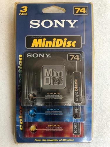 minidisc sony nuevos y usados