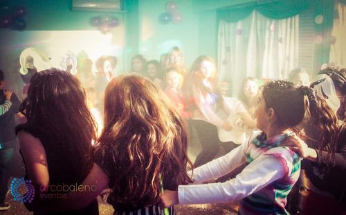 minidisco teen - fiesta fluo - dj - animación- adolescentes