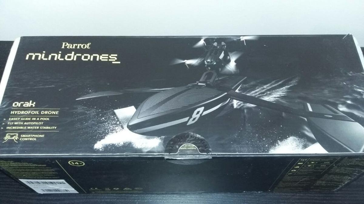 Minidrone Parrot Orak 550000 En Mercado Libre Minidrones Hydrofoil Drone Cargando Zoom