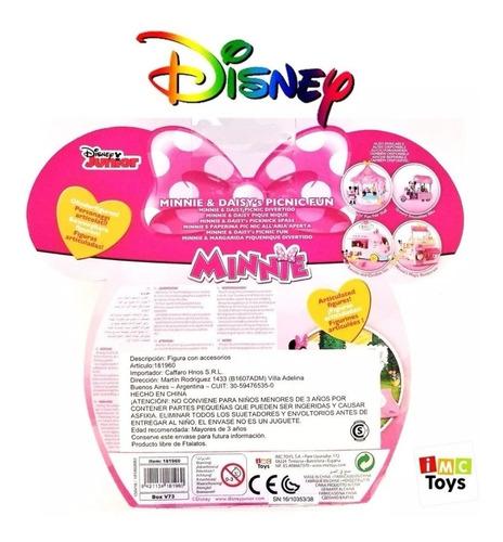 minie mouse y daisy picnic fun fuguras pack por 2 original