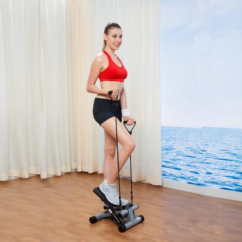 miniescaladora sunny health & fitness con bandas