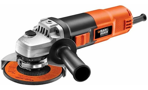 miniesmeriladora 4 1/2+6 discos g720p black and decker