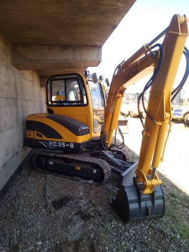 miniexcavadora excavadora 4 toneladas yuchai yc35 motorman