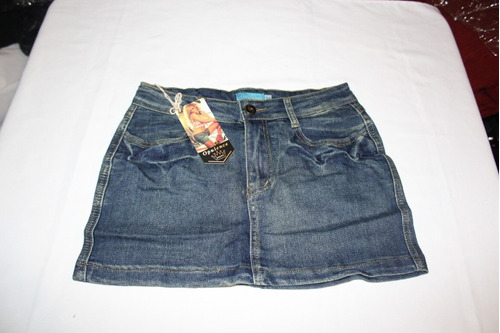 minifalda corta de jeans exelente calidad tallas s a xl
