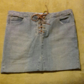 d373a4eb7 Minifalda De Jean Zara Trafaluc Talle 38 .es Como Un M