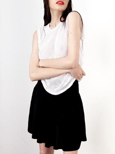 minifalda frunce mujer saloon soma