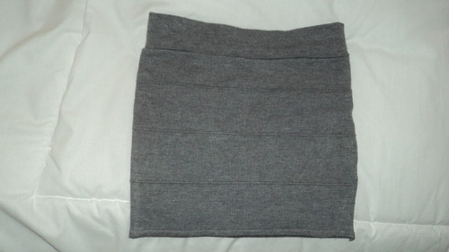 minifalda gris new new